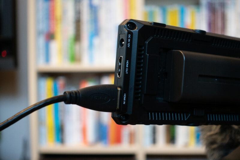 Feelworld Master MA5 HDMIポート