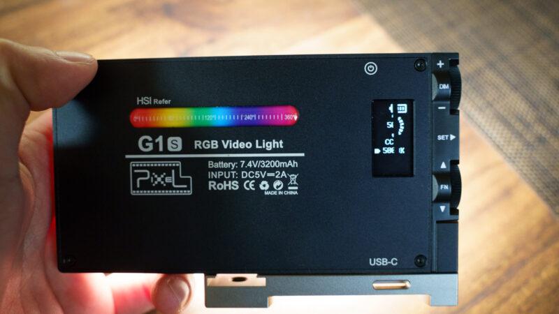 PIXEL G1S 液晶画面