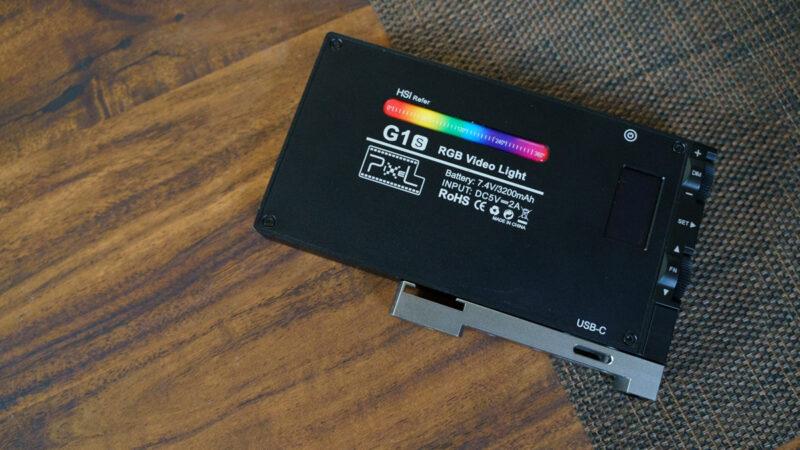 RGBビデオライト P`IXEL G1S