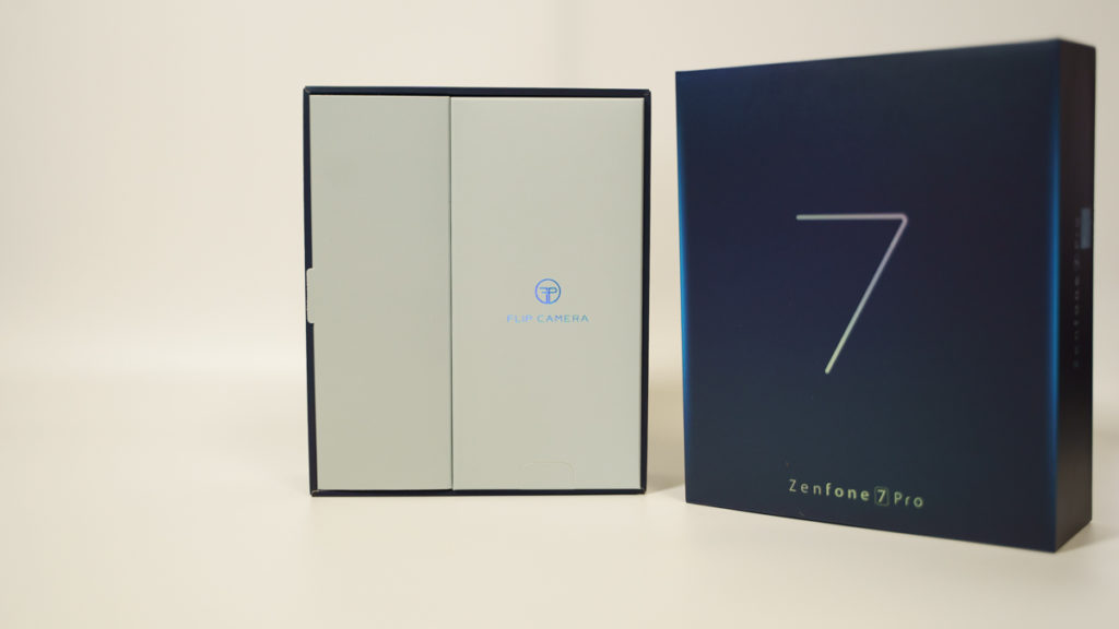 Zenfone7 pro 外箱