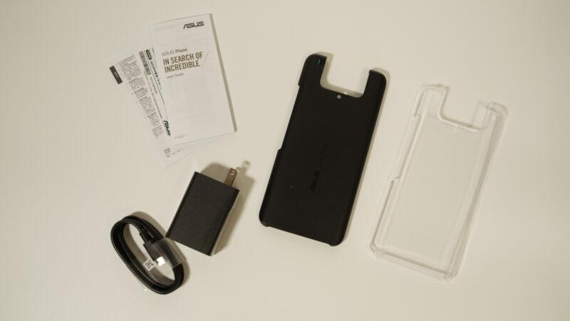 Zenfone7 proの付属品