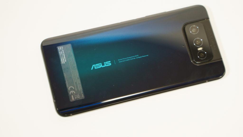 Zenfone7 pro 背面