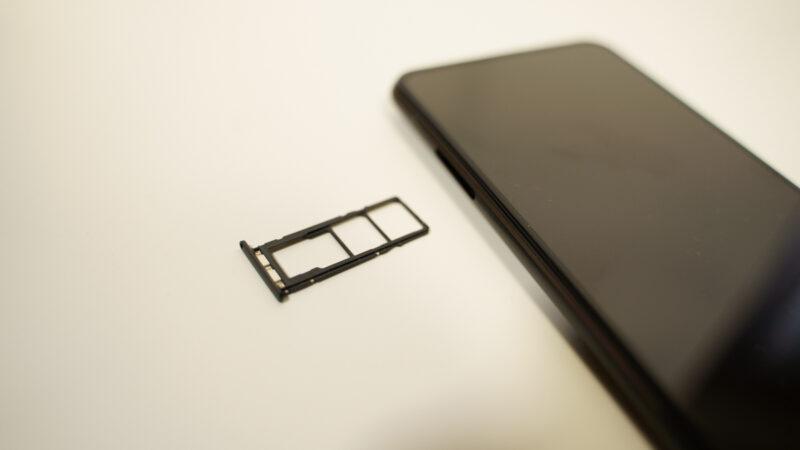 Zenfone7 SIMカード2枚+SDカードトリプルスロット