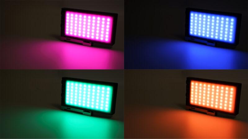 RGBカラーを元に様々な色へ変更が可能