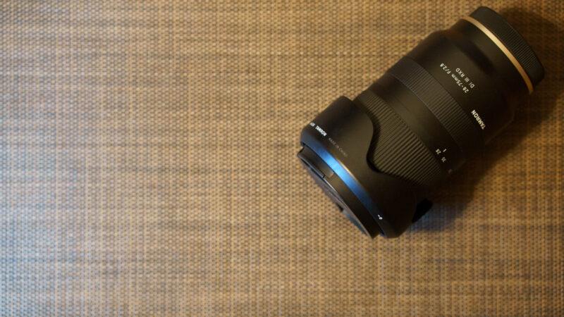 TAMRON 28-75mm F/2.8 Di III RXD レンズ外観