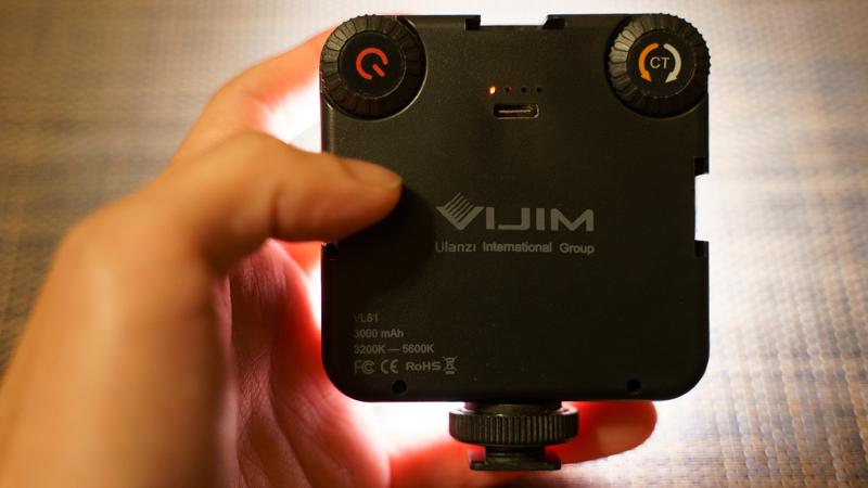 Ulanzi VL-81 LEDビデオライト 照明