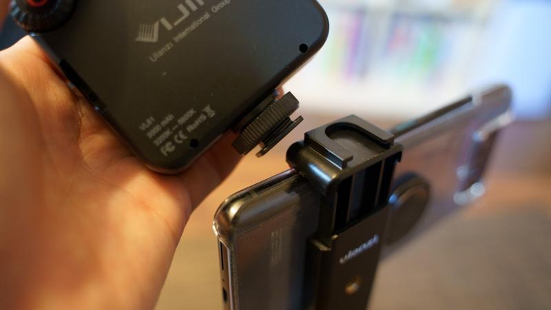 Ulanzi MT-08 スマートフォンホルダーのコードシュー