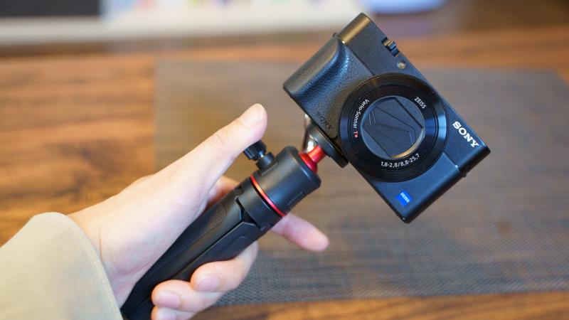 Ulanzi MT-08 RX100M5の装着例