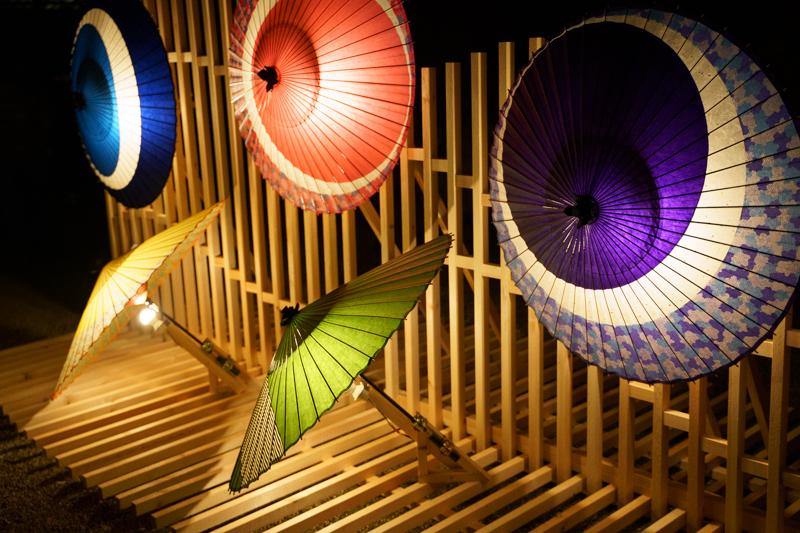 ブラックミストNo.05 夜景・イルミネーションの光源の変化
