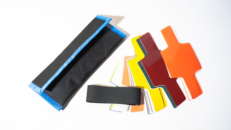 ストロボ用 20枚カラーゲルフィルター