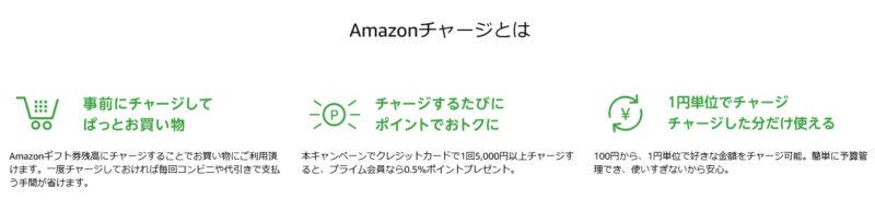 Amazonチャージとは
