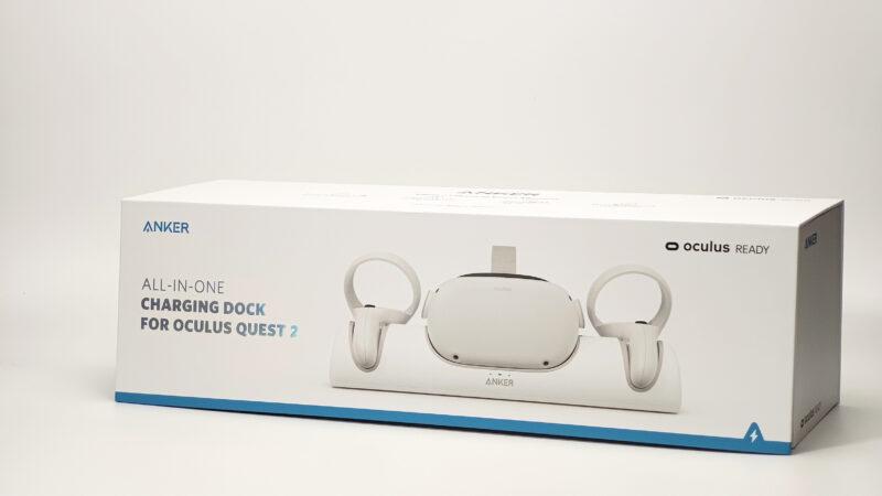 Anker ChargingDock OculusQuest2専用充電ドック 外箱