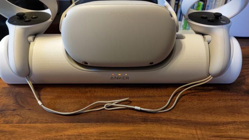 Anker ChargingDock OculusQuest2専用充電ドック 充電ランプ