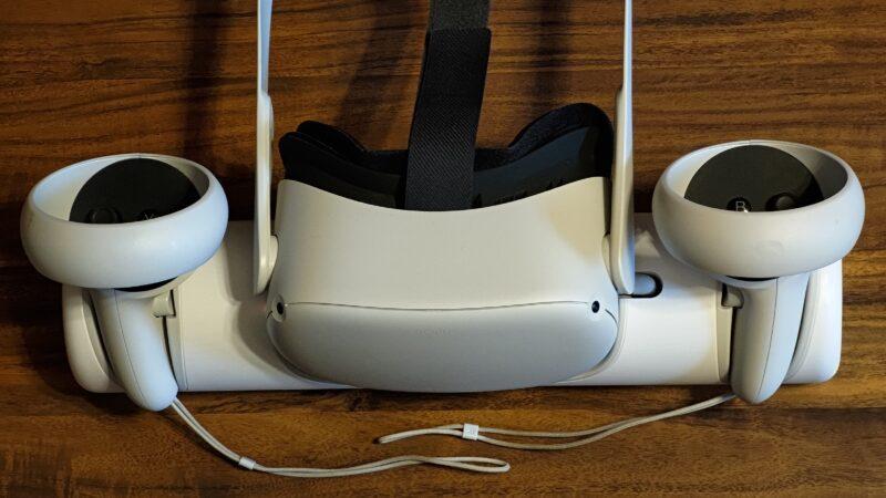 Anker ChargingDock OculusQuest2専用充電ドック 収納ディスプレイホルダーとしての使い方