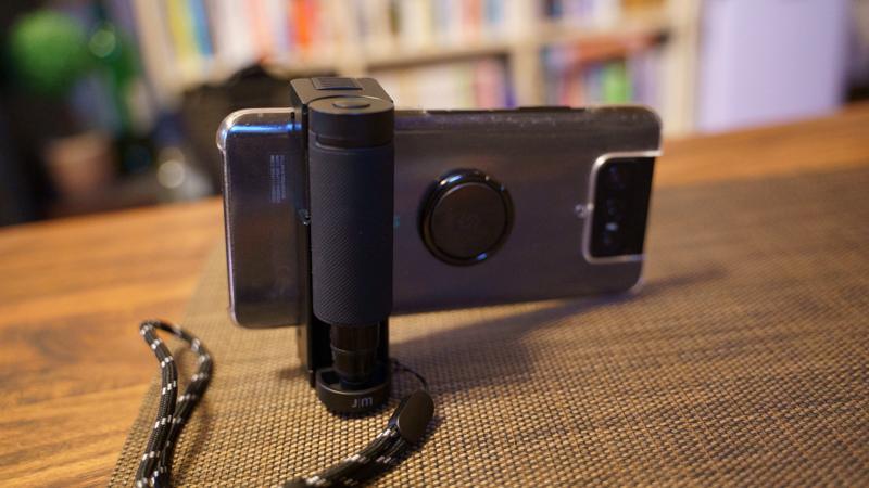 スマホ用カメラグリップ ShutterGrip2 使い方