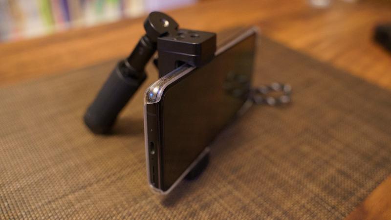 スマホ用カメラグリップ ShutterGrip2 スマホスタンド