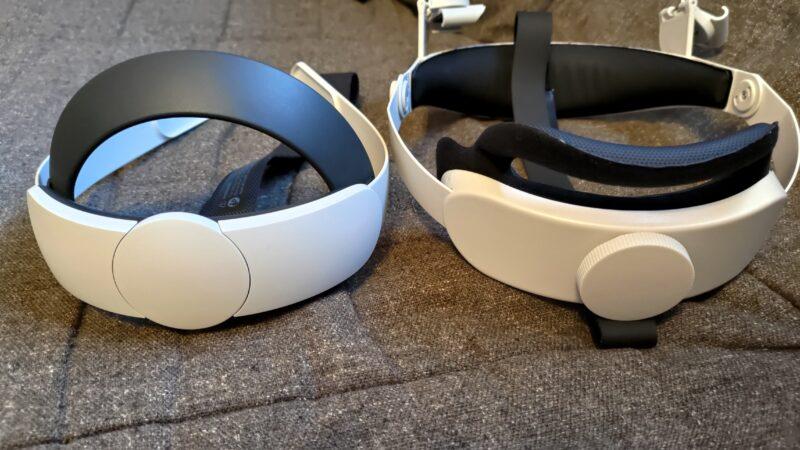 OculusQuest2 ストラップの比較