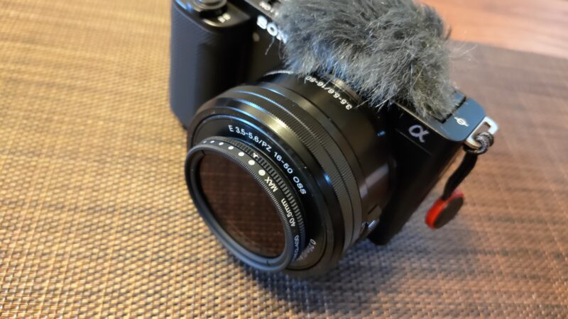 K&F Concept 可変NDフィルター 40.5mm ND2-ND400レンズフィルター