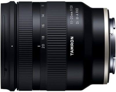 TAMRON 11-20mm F/2.8 Di III-A RXD (Model B060)