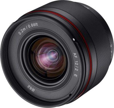 SAMYANG 単焦点レンズ AF 12mm F2