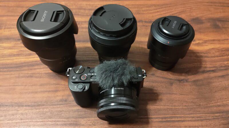 ZV-E10 レンズ選び