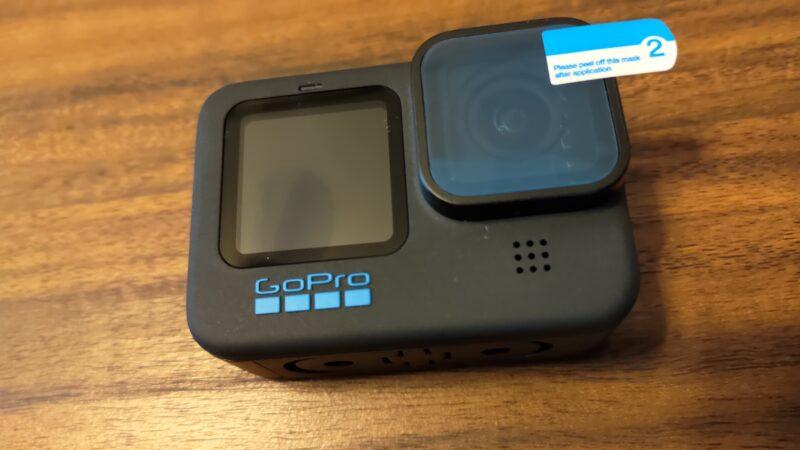 ActyGo 液晶保護フィルム 3か所×2枚 レンズフィルム