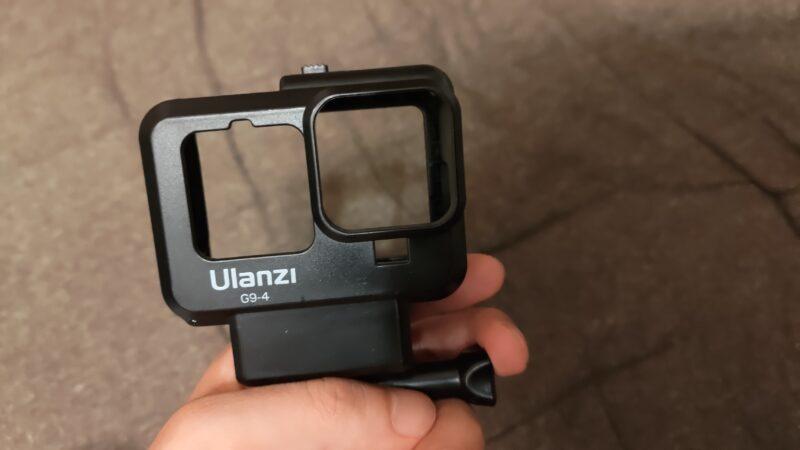 Ulanzi G9-4 多機能マウント保護ケース パーツ取り外し後